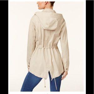 Cotton Hooded utility Jacket!